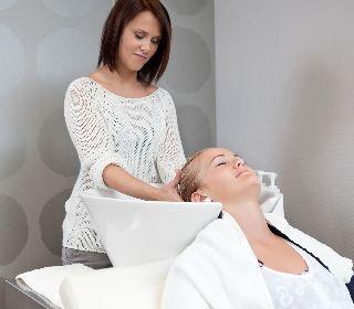 علاج تدليك فروة الرأس