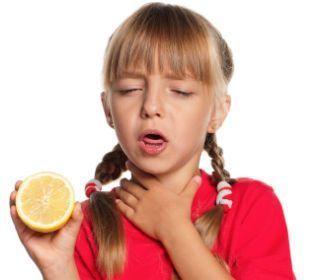 الليمون يعالج التهاب الحلق