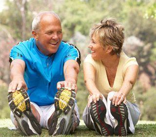 المحافظة على اللياقة البدنية والقيام بنشاط بدني