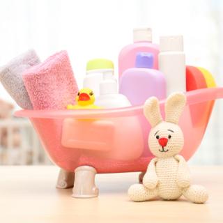 تجهيز مستلزمات الاستحمام