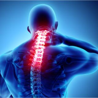 علاج آلام الرقبة الناتج عن ضغط الأعصاب.