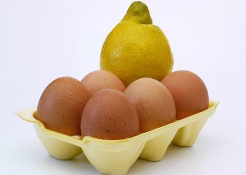 قناع الليمون والبيض