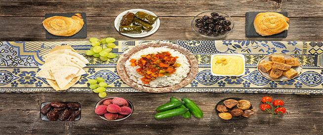 أسس التغذية السليمة في رمضان