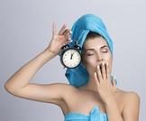 تنظيف البشرة قبل النوم