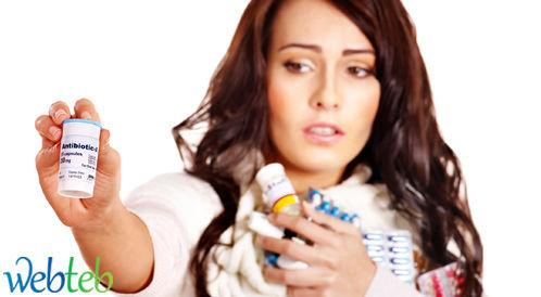 آلام الحلق والحنجرة: لا داعي للمضادات الحيوية