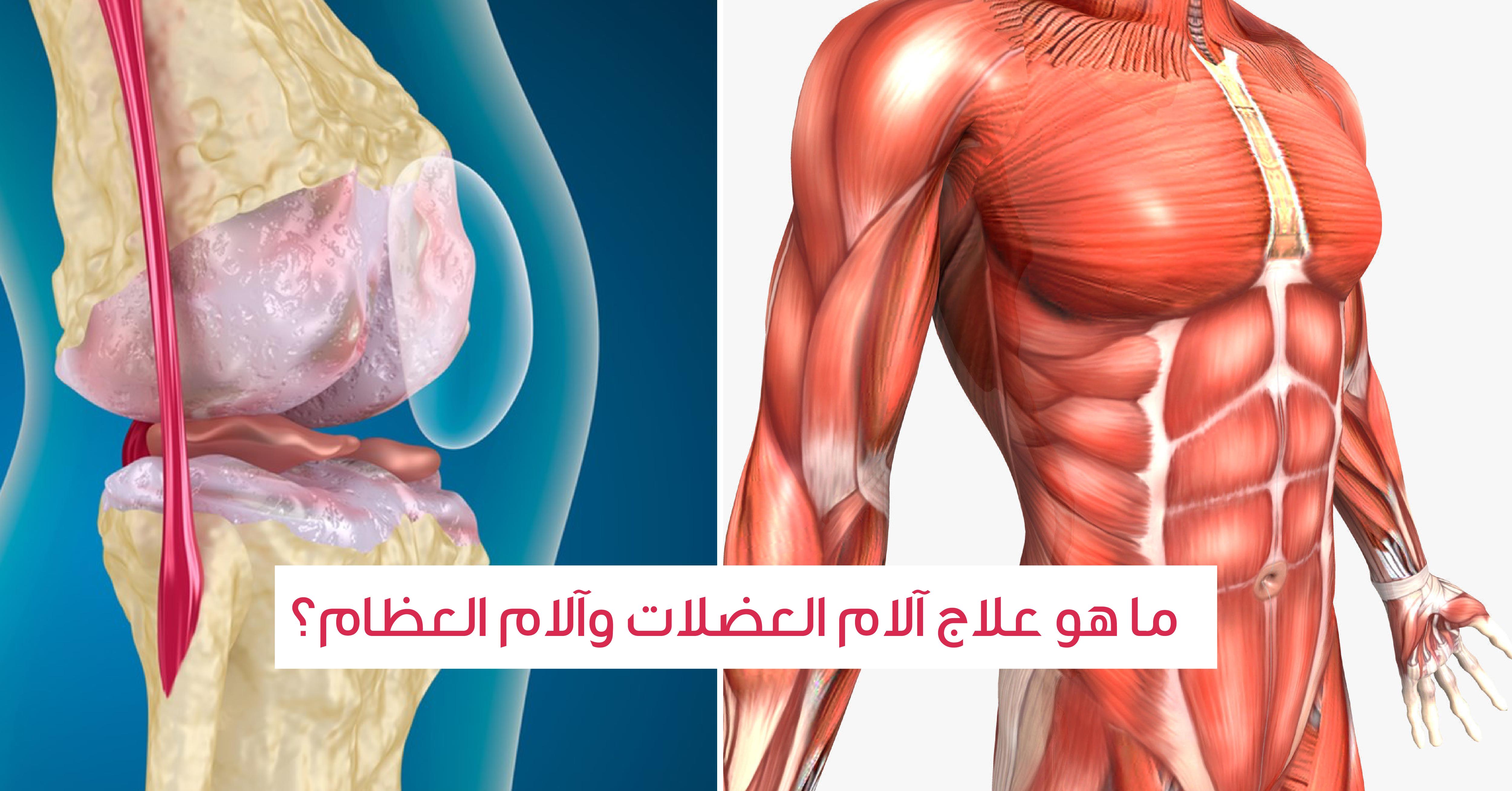 ما هو علاج الام العضلات والام العظام ويب طب