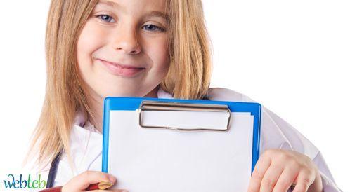 استمارة زيارة الطبيب في سن الست سنوات