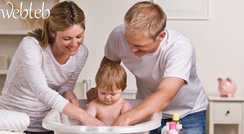 استحمام الرضيع المرشد للوالدين المبتدئين