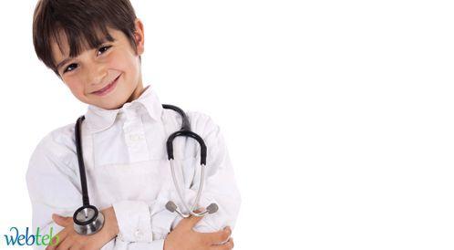 استمارة زيارة طبيب الأطفال في سن الثماني سنوات