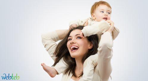 حب الأم لابنها وتطور دماغ الطفل!