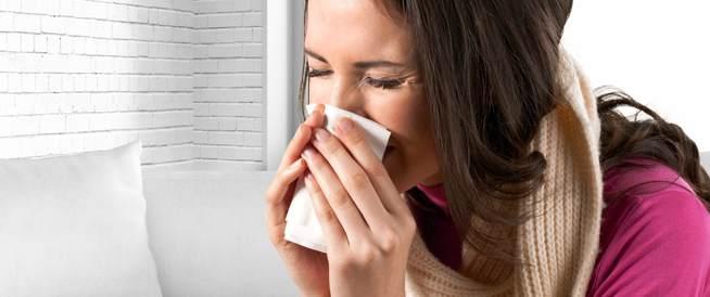 علاج الزكام دون دواء