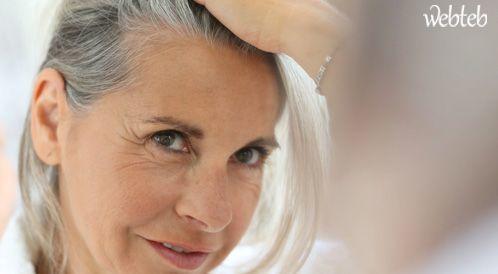 علاج الشعر الأبيض أو تحويله لمصدر جاذبية!