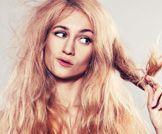 علاج الشعر الجاف!