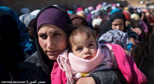 تحية للأم السورية في عيد الأم!