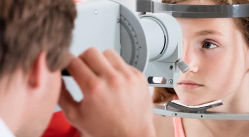 سرطان العين لدى الأطفال