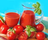 عصير الطماطم !