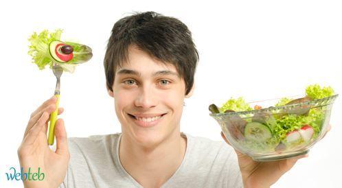 نصائح حول التغذية السليمة عند الرجال!