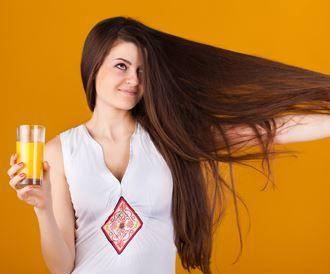 تغذية الشعر من التغذية السليمة للجسم!