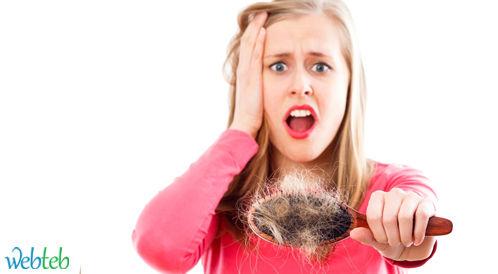 اسباب تساقط الشعر عند النساء - الاسباب الصحية !