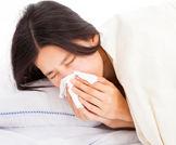 الإصابة بالانفلونزا