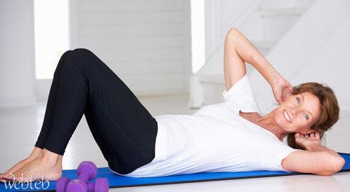 تمارين عضلات البطن