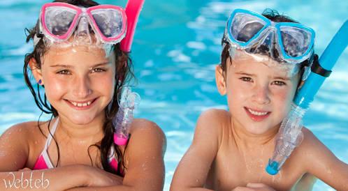 السباحة الآمنة وما يوجد تحت الماء