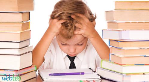 ضغط امتحانات المدارس المرهقة