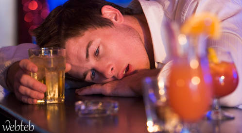 مشاكل شرب الكحول بافراط!