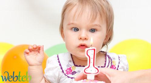 تطور الطفل في السنة الاولى من عمره