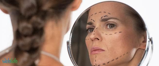 التعامل مع ردود الفعل الخاصة بتشوهات الوجه