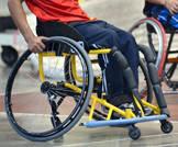 ديفيد بطل الألعاب الأوليمبية للمعاقين