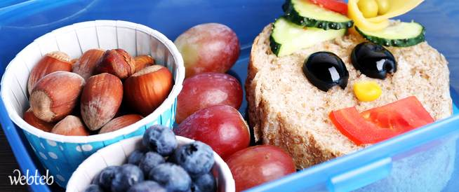 وجبة غداء مثالية لطفلك في المدرسة