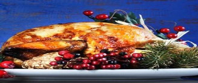 عشاء صحي وقليل السعرات لعيد الميلاد