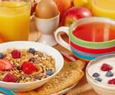 وجبات الإِفْطار الصحية