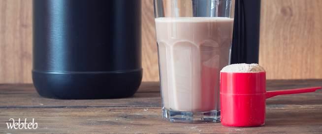 بروتين مصل اللبن يفقدك الوزن