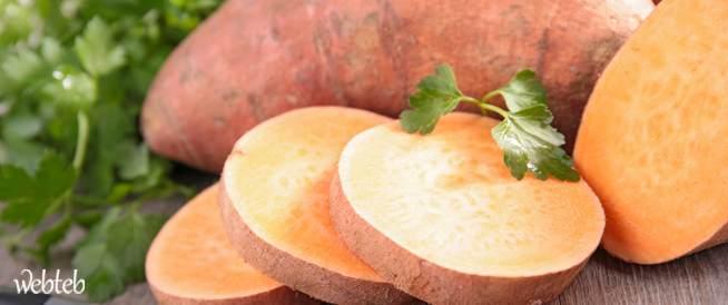 البطاطا الحلوة فوائدها وكيفية اختيارها