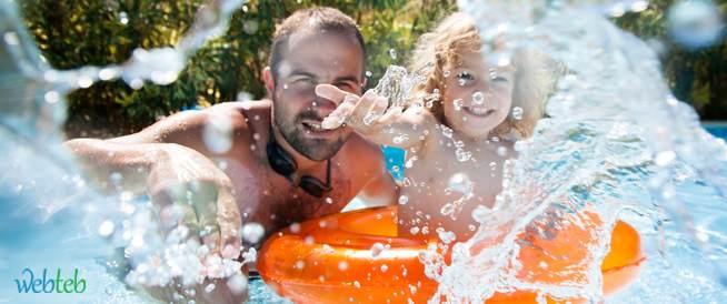 الاسهال والسباحة متى ندخل بركة السباحة وماذا نفعل؟