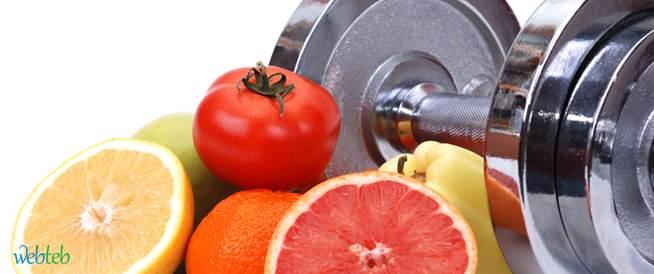ماذا تأكلون للحصول على عضلات وجسم قوي