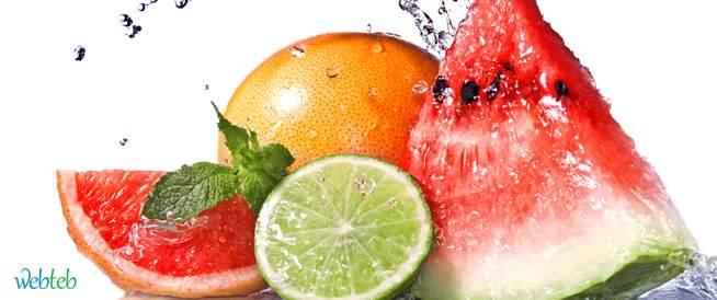 نصائح لغذاء صحي في فصل الصيف