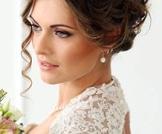 تصفيف شعر العروس