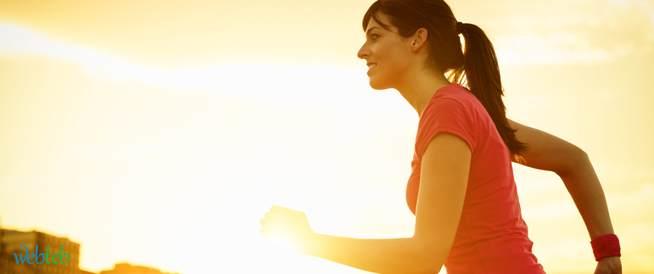 تمارين اللياقة البدنية في الصيف