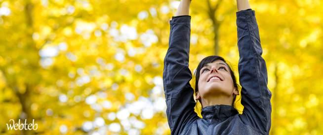 ممارسة تمارين المرونة الصباحية
