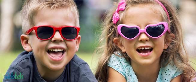 النظارات الشمسية للأطفال