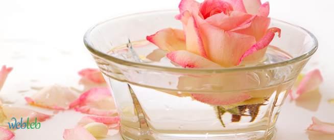 وصفات لتبييض الوجه باستخدام ماء الورد