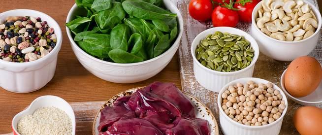 أطعمة غنية بالحديد: قائمة بأشهرها