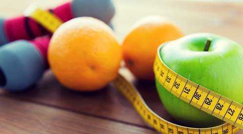 التغذية وممارسة الرياضة