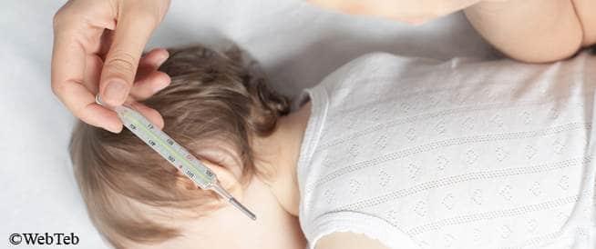 أساسيات مقياس الحرارة: قياس درجة حرارة الطفل