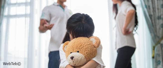 الأطفال والطلاق: مساعدة الأطفال بعد الانفصال
