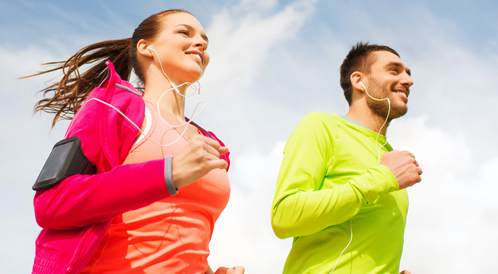 زيادة سرعة التمرين مع التدريب على فترات