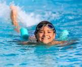 سباحة الأطفال